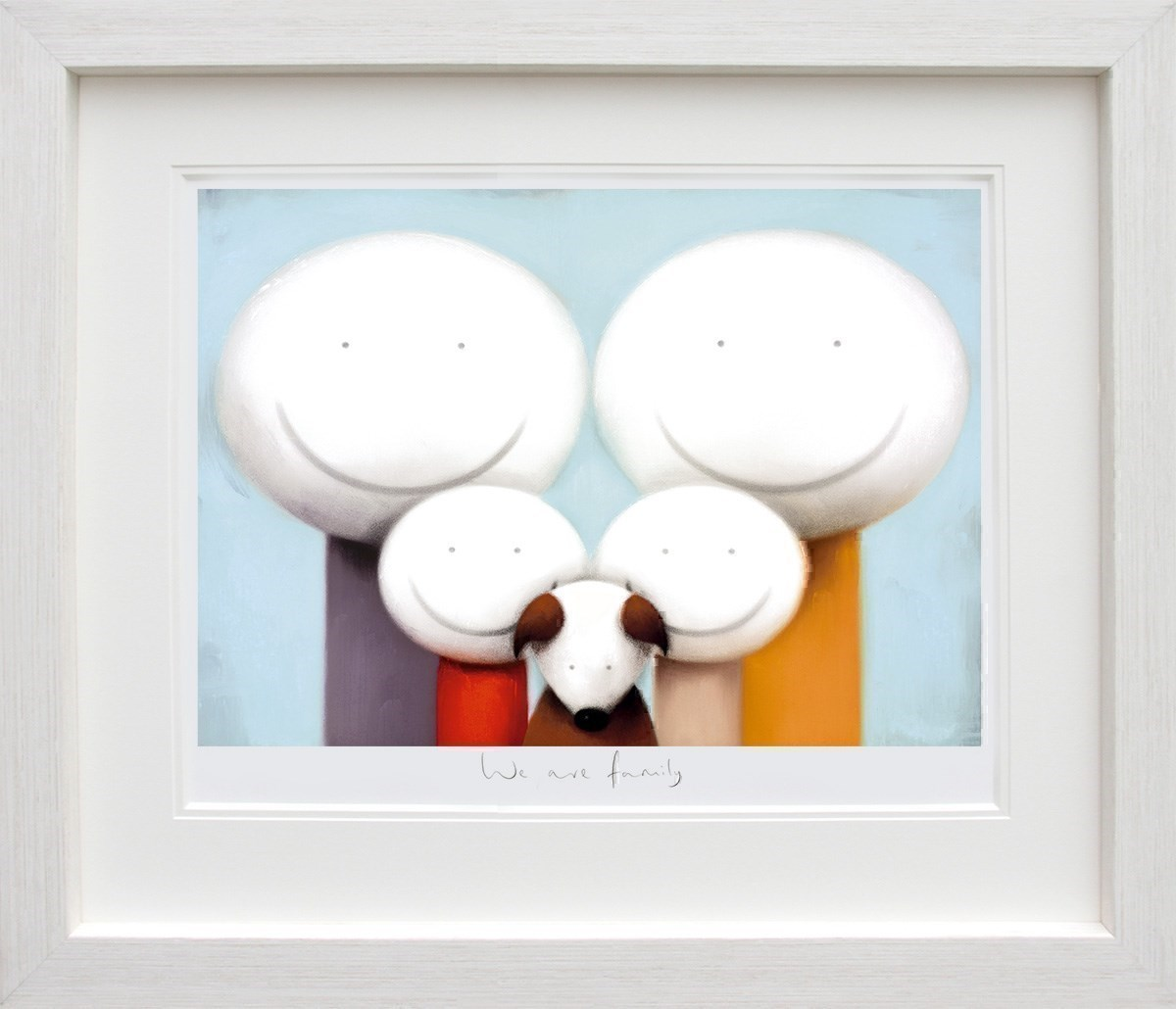 We Are Family by Doug Hyde - Limited Edition on Paper sized 26x18 inches. Available from Whitewall Galleries